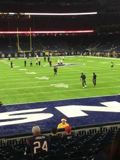 NRG Stadium, section: 118, row: M, seat: 20
