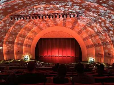 Radio City Music Hall, section: 3rd Mezzanine 3, row: H, seat: 304
