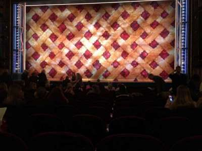 Brooks Atkinson Theatre, section: Orch, row: L, seat: 112