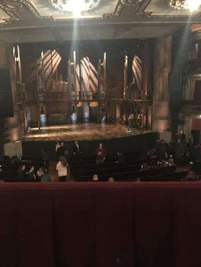 PrivateBank Theatre, section: Dress circle lc, row: a, seat: 223