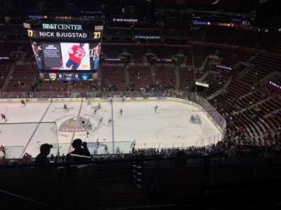 BB&T Center, section: 334, row: 9, seat: 15