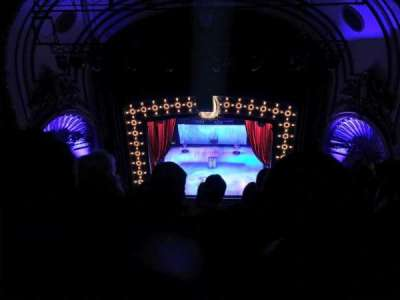 Palace Theatre (Broadway), section: Balcony, row: F, seat: 110