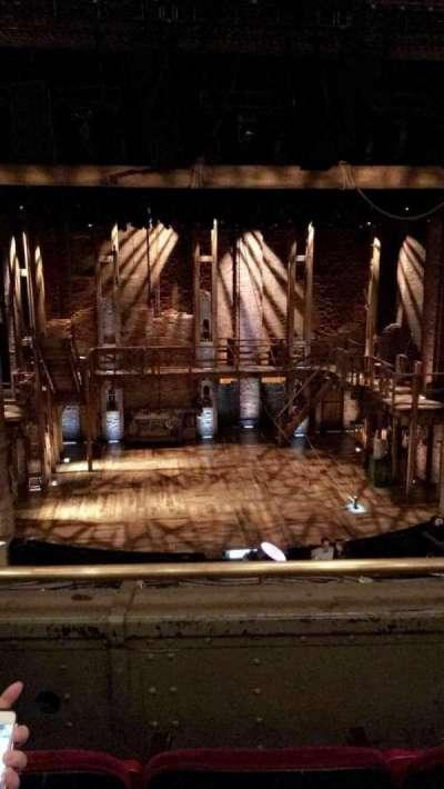 CIBC Theatre, section: Mezzanine L, row: C, seat: 1