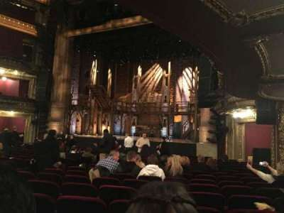PrivateBank Theatre, section: Orchestra R, row: S, seat: 14