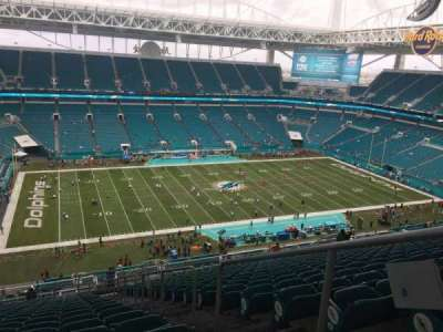 Hard Rock Stadium, section: 350, row: 29, seat: 2