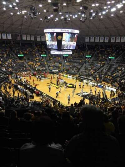 Charles Koch arena, section: 118, row: 32, seat: 19