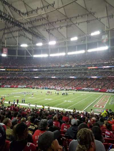 Georgia Dome, section: 111, row: 29, seat: 15