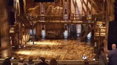 PrivateBank Theatre, section: Mezzanine RC, row: M, seat: 318
