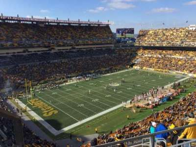Heinz Field, section: 504, row: G, seat: 4