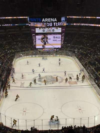 PPG Paints Arena, section: 228, row: M, seat: 14