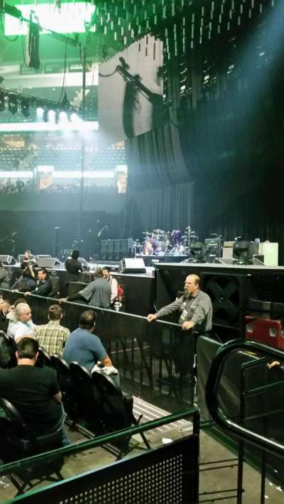 AT&T Center, section: 20, row: 7, seat: 1