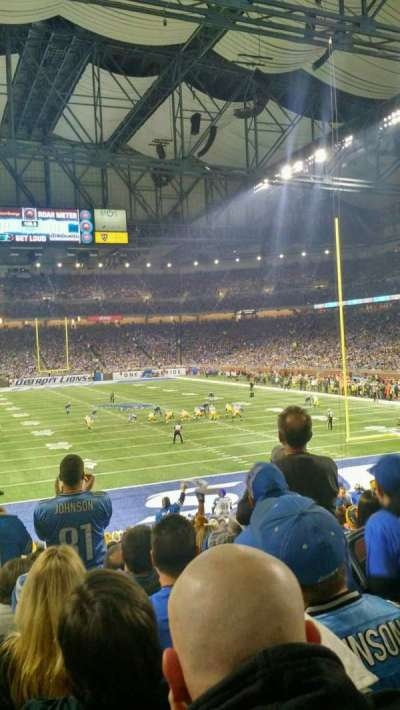 Ford Field, section: 115, row: 25, seat: 8