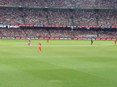 Docklands Stadium, section: 16, row: S, seat: 61
