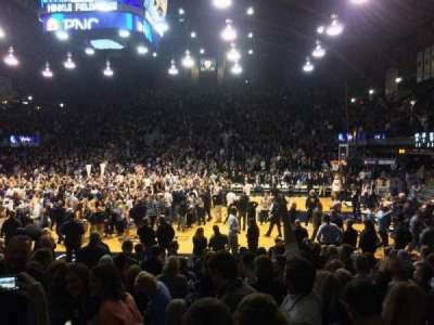 Hinkle Fieldhouse section 121