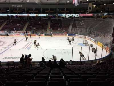 General Motors Centre, section: 102, row: 16, seat: 17