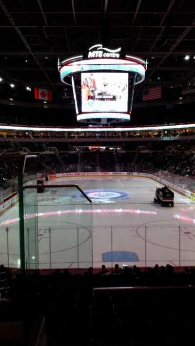 MTS Centre, section: 212, row: 2, seat: 18