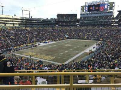 Lambeau Field section 308