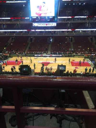 United Center, section: 317, row: 1