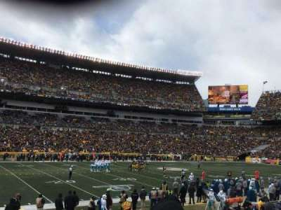 Heinz Field, section: 107, row: BB, seat: 10