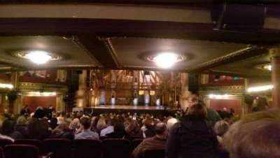 PrivateBank Theatre, section: Orchestra C, row: Z, seat: 112