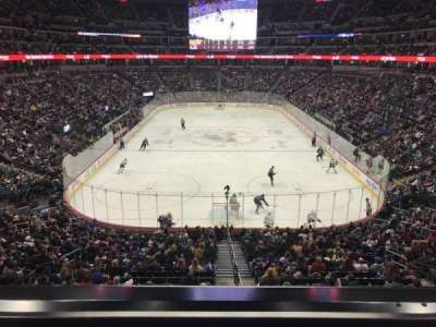Pepsi Center, section: 246, row: 1, seat: 9