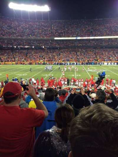 Arrowhead Stadium, section: 120, row: 24, seat: 3