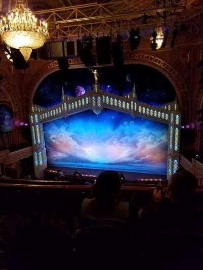 Eugene O'Neill Theatre, section: Rear Mezzanine, row: G, seat: 120