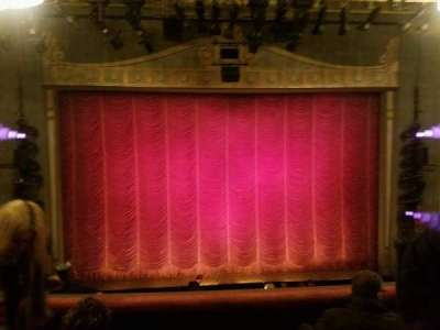 Broadhurst Theatre, section: mezz cent, row: 4, seat: 105