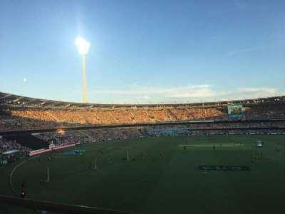 The Gabba, section: 76, row: AA, seat: 410