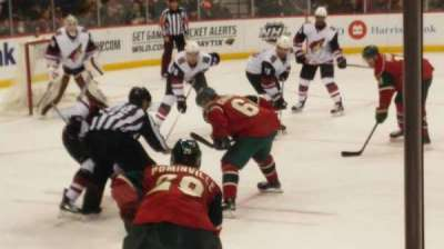 Xcel Energy Center, section: 118, row: 5, seat: 5
