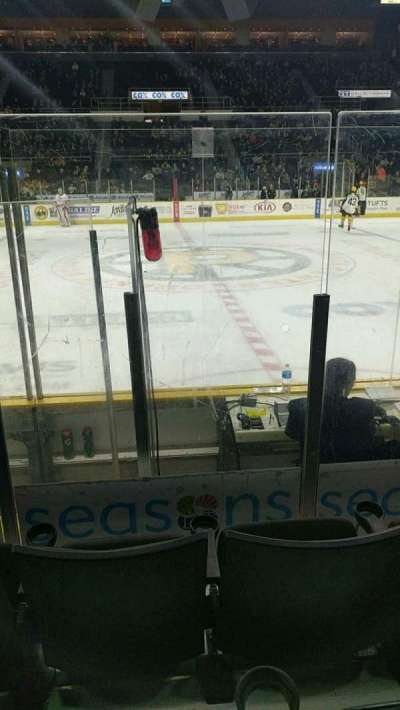 Dunkin' Donuts Center, section: 108, row: HH, seat: 11