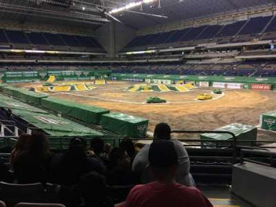 Alamodome, section: 128, row: 24, seat: 1