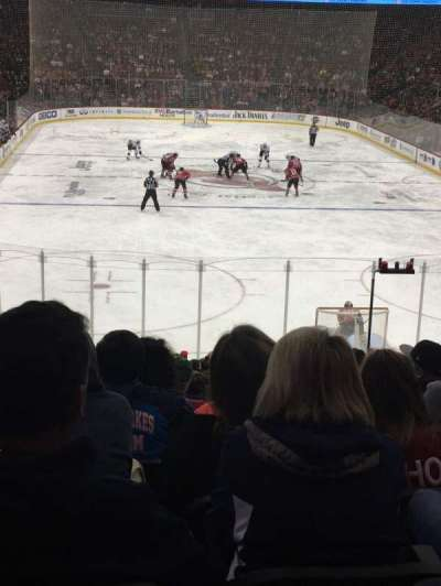 Prudential Center, section: 13, row: 21, seat: 11