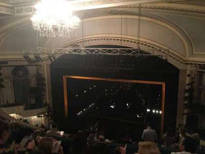 Ambassador Theatre, section: Rear Mezzanine, row: D, seat: 8
