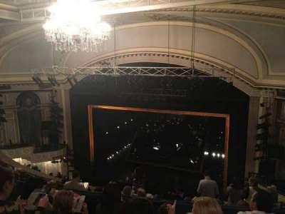 Ambassador Theatre, section: Rear Mezzanine, row: D, seat: 8