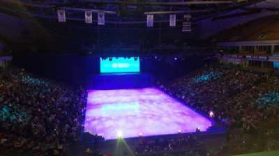 SNHU Arena, section: 202, row: A, seat: 5
