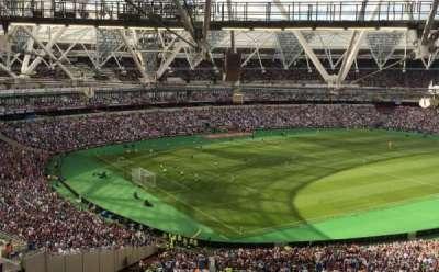 London Stadium, section: 229, row: 63, seat: 664
