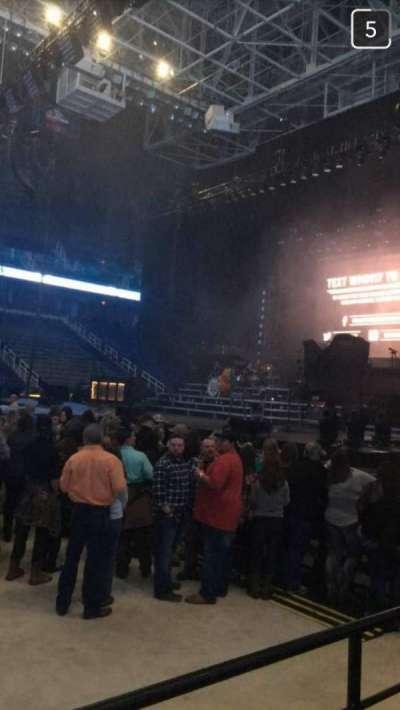 Greensboro Coliseum, section: 125, row: D, seat: 12