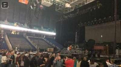 Greensboro Coliseum, section: 125, row: D, seat: 13