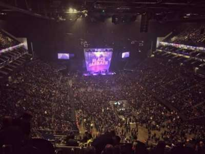 The O2 Arena, section: 410, row: N, seat: 685