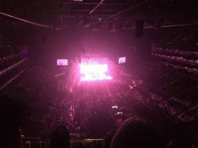 The O2 Arena, section: 410, row: N, seat: 686