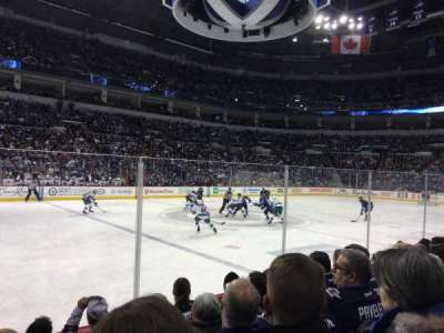 MTS Centre, section: 107, row: 5
