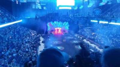 Greensboro Coliseum section 220