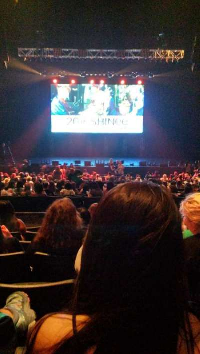 Verizon Theater, section: 204, row: GG, seat: 12
