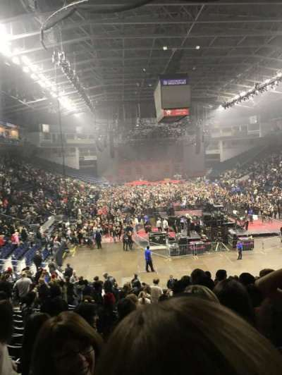 Webster Bank Arena, section: 119, row: R, seat: 1