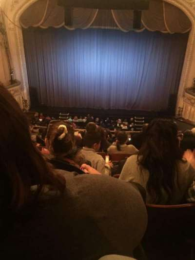 Merriam Theater, section: Balcony, row: L, seat: 106