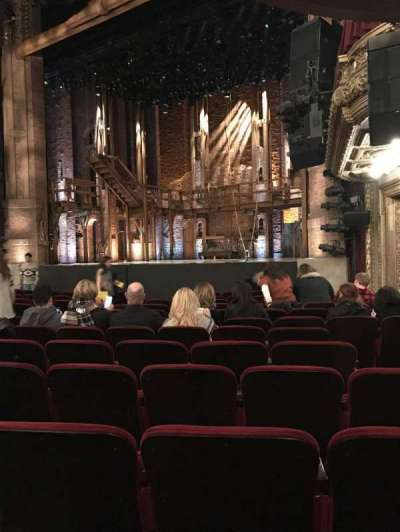 PrivateBank Theatre, section: Orch, row: N, seat: 24