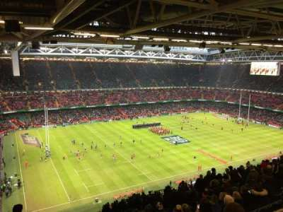 Principality Stadium, section: U32, row: 29, seat: 12