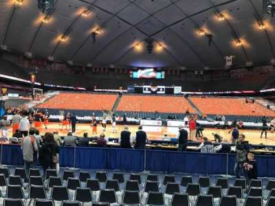 Carrier Dome, section: 109, row: A, seat: 109