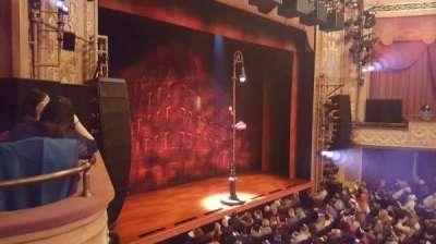 Longacre Theatre, section: Mezz, row: A, seat: 22
